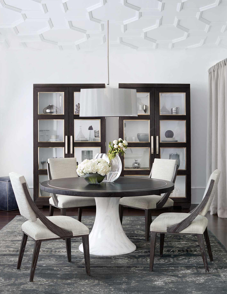 Luxury Dining Room Styles | Classic Dining Room | Bernhardt Furniture | Read more in The Luxurist at LuxDeco.com