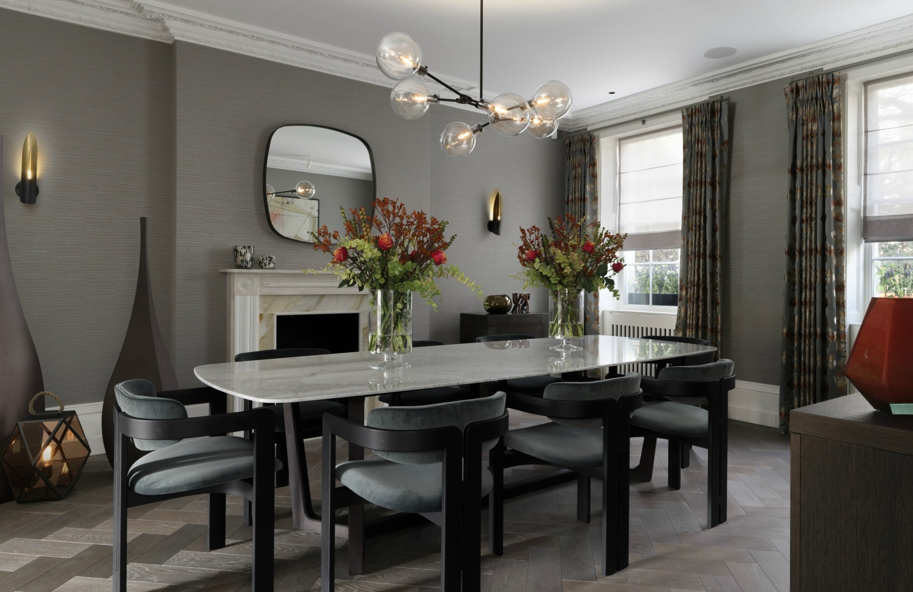 Luxury Dining Room Styles | Modern Dining Room | Staffan Tollgard | Read more in The Luxurist at LuxDeco.com