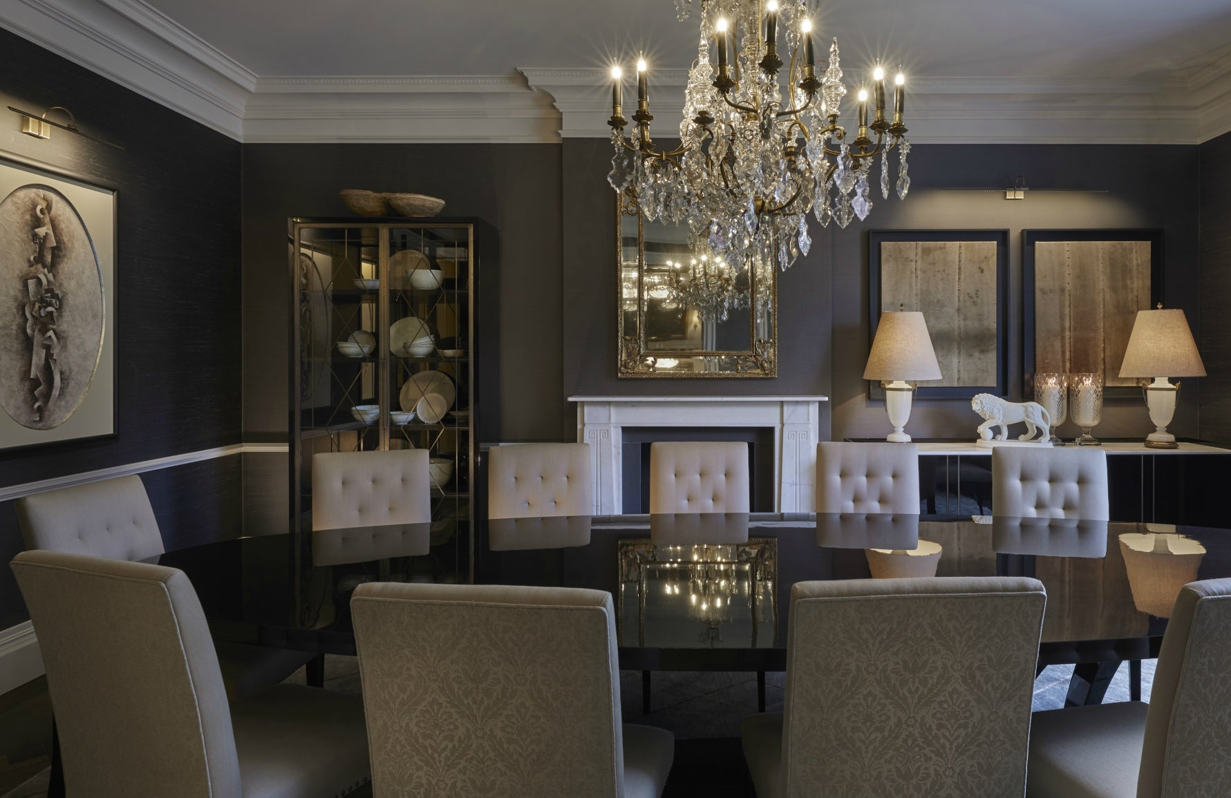 Luxury Dining Room Styles | Traditional Dining Room | Louise Bradley | Read more in The Luxurist at LuxDeco.com