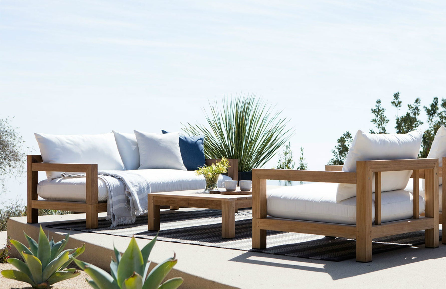 Luxury Garden Furniture | Shop Luxury Outdoor Sofas at LuxDeco.com