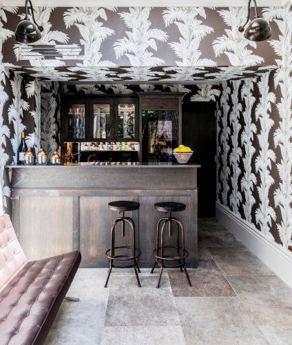 Luxury Home Bar Ideas | Home Bar Designs & Decor | Lucinda Sanford | LuxDeco.com Style Guide