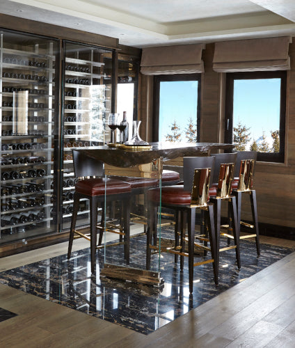 Luxury Home Bar Ideas | Home Bar Designs | Home Bar Furniture | Spinocchia Freund London | LuxDeco.com Style Guide
