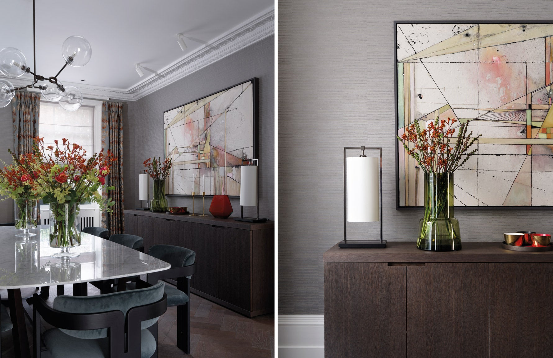 Luxury mid-century sideboards | Tollgard Group | Shop sideboards online at LuxDeco.com