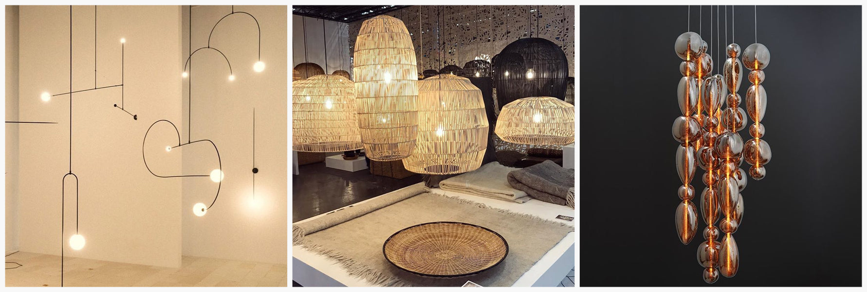Maison et Objet Trends | Modern Lighting, Rattan Lighting, Glass Lighting | Shop at LuxDeco.com