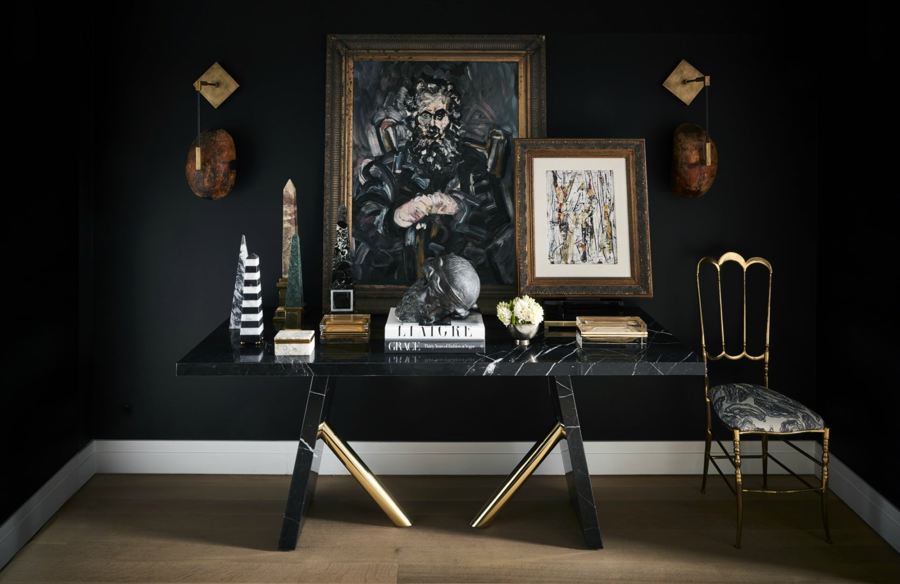 Marble Furniture Trends | Marble Console Table | Carlyle Design | Read more in LuxDeco's The Luxurist