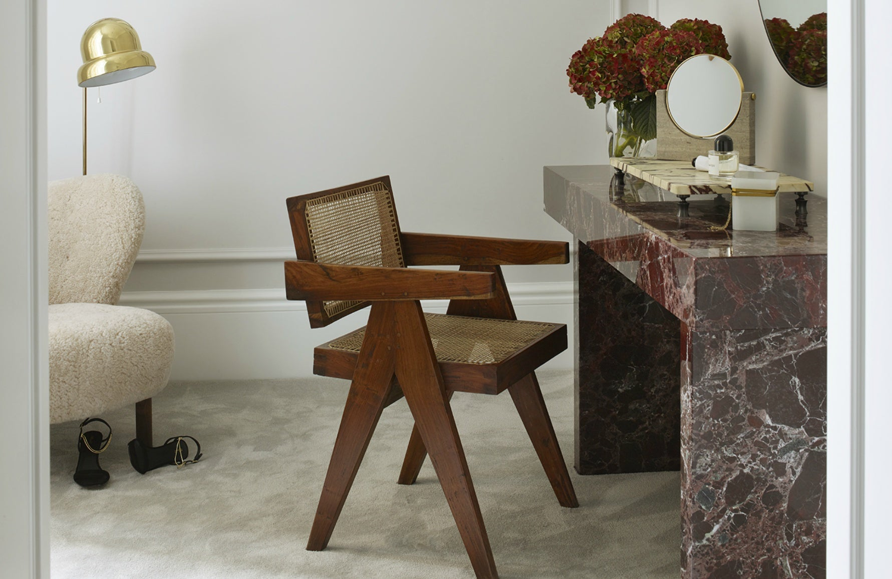 Marble Furniture Trends | Marble Dining Table | Banda Properties | Read more in LuxDeco's The Luxurist