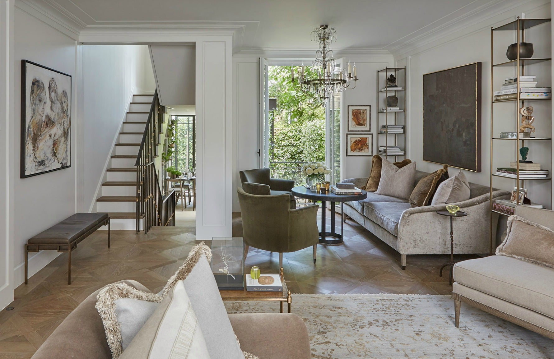 Meet The Designer | Louise Bradley Sitting Room | The Luxurist | LuxDeco.com