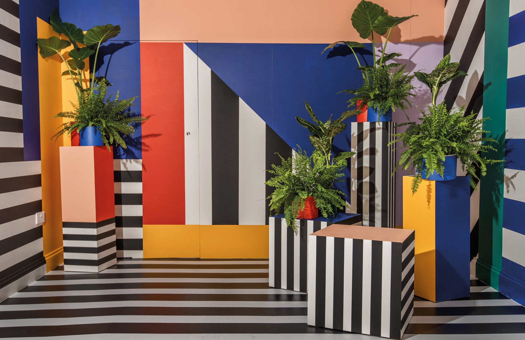 Memphis Design | Camille Walala | Memphis Interiors | Read more and shop the look in The Luxurist at LuxDeco.com