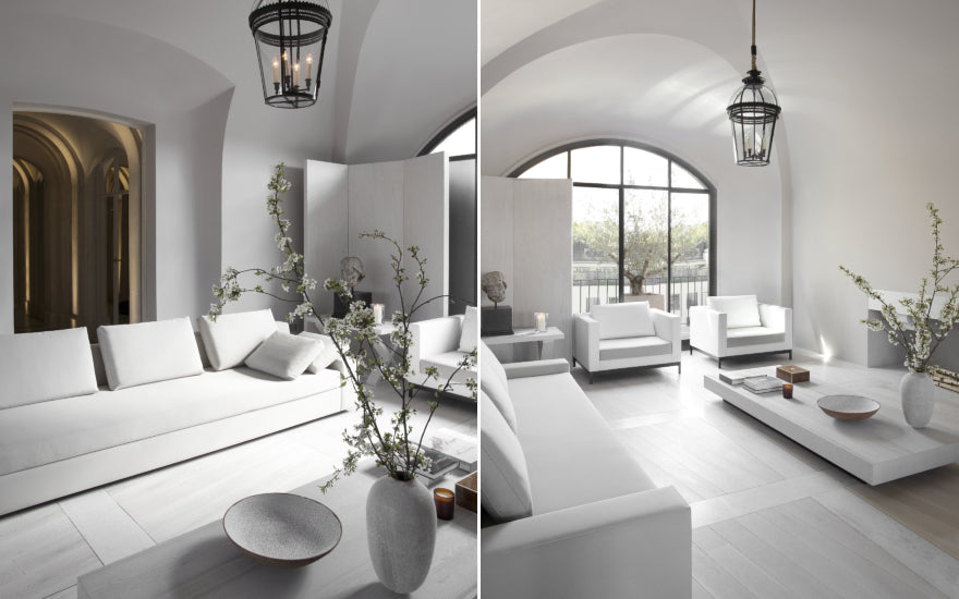 Minimalist Interior Design Living Room Ideas - Guillaume Alan - LuxDeco Style Guide