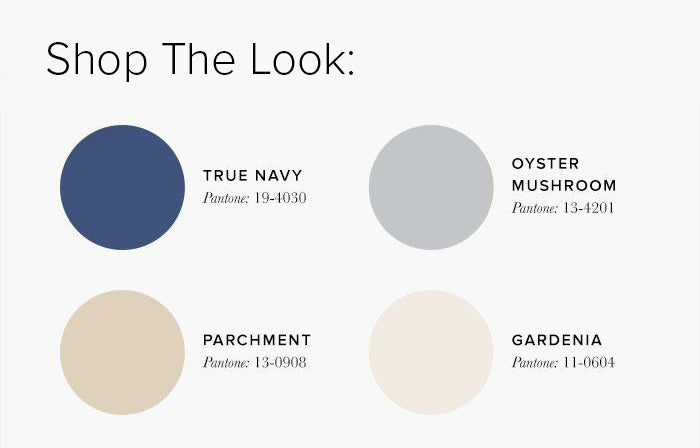 Neutral and Blue Bedroom Colour swatches - Bedroom Colour Scheme Ideas & Combinations – LuxDeco Style Guide