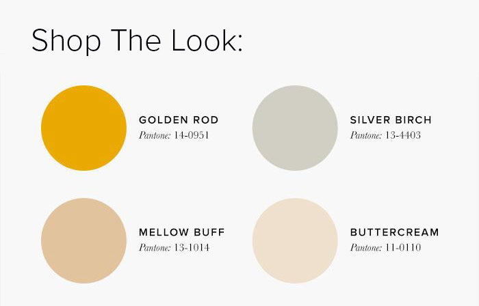 Neutral and Gold Bedroom Colour swatches - Bedroom Colour Scheme Ideas & Combinations – LuxDeco Style Guide