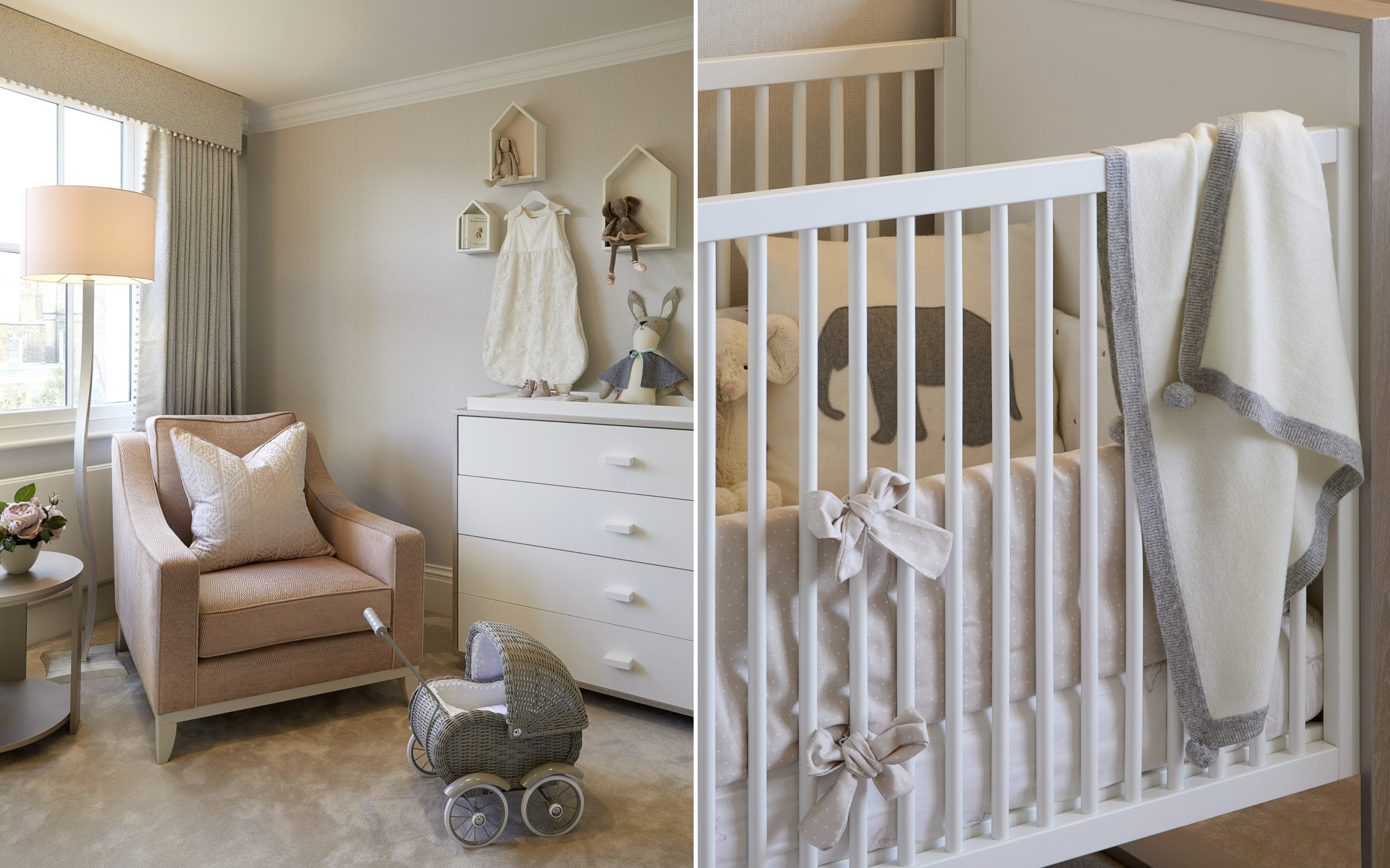 Neutral Baby Room Ideas | How To Decorate Your Nursery | LuxDeco.com