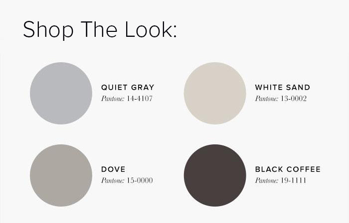 neutral Bedroom Colour swatches - Bedroom Colour Scheme ideas & Combinations – LuxDeco Style Guide