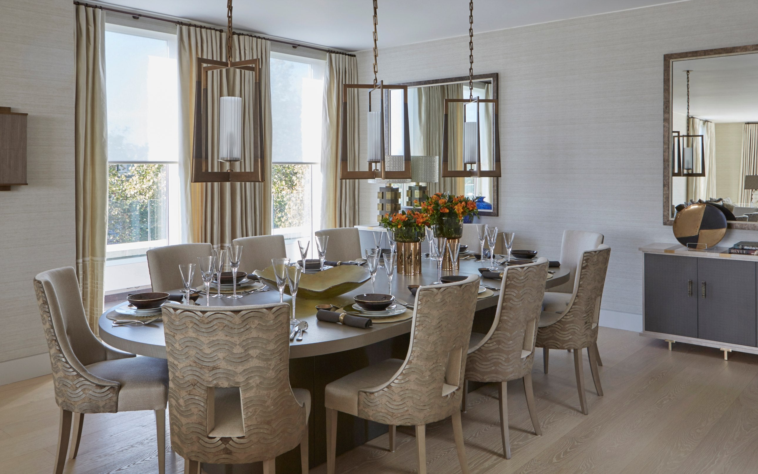Oval Dining Table | Types of Dining Table Shapes for your Dining Room | LuxDeco.com