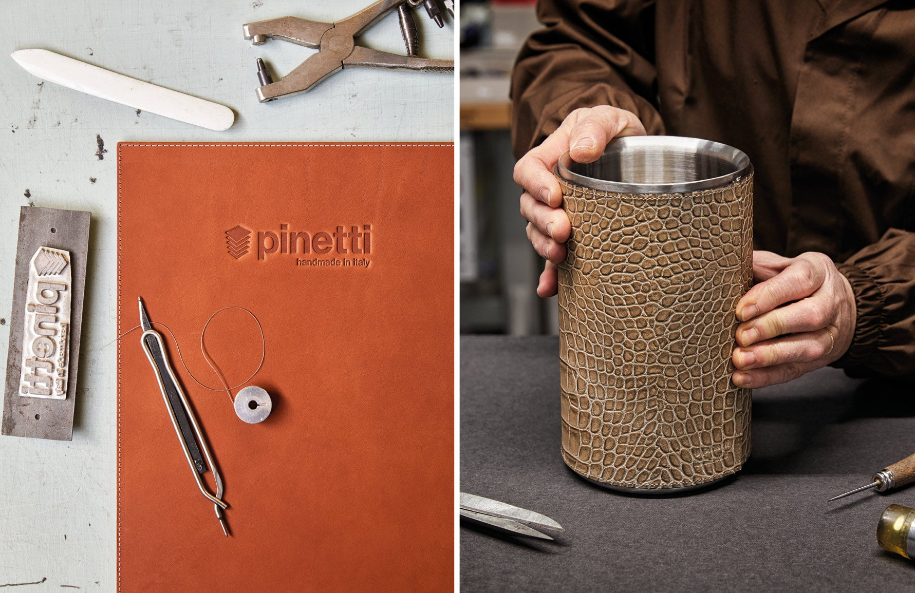 Pinetti Leather Goods | Made In Italy | Read more in The Luxurist | LuxDeco.com