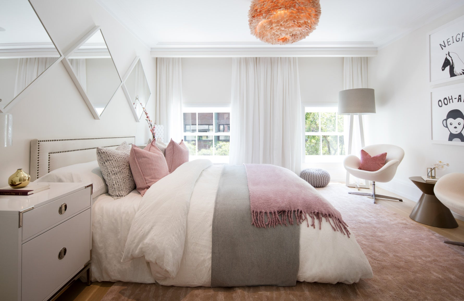 Pink Bedroom Ideas How To Decorate A Room Pink Luxdeco