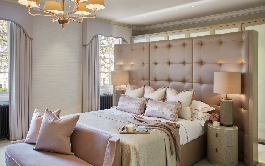 Pink Bedroom Ideas | How to Decorate Rooms with Pink | LuxDeco.com