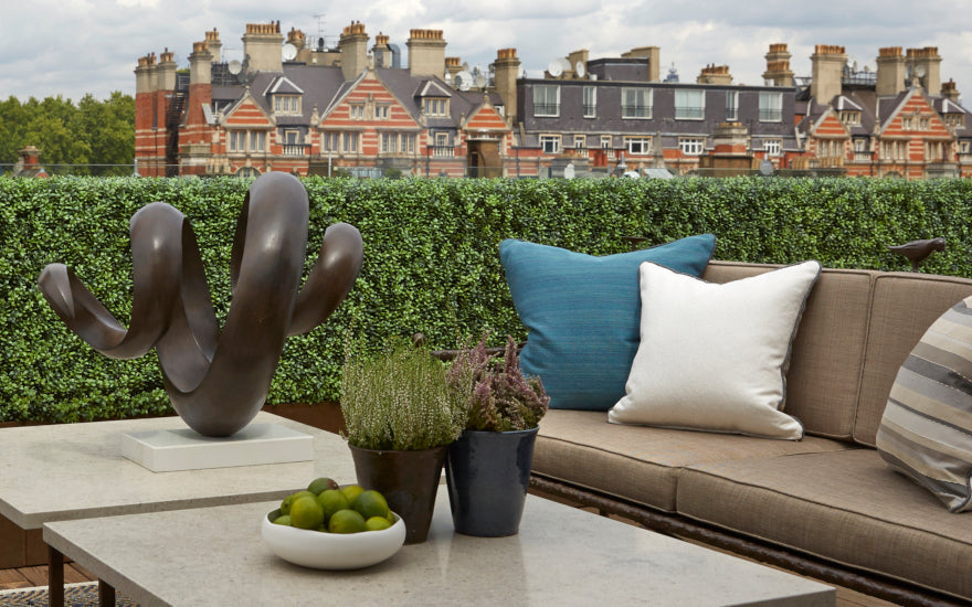 Rooftop City Garden Design Ideas | Types of City Gardens | Helen Green Design | LuxDeco.com Style Guide