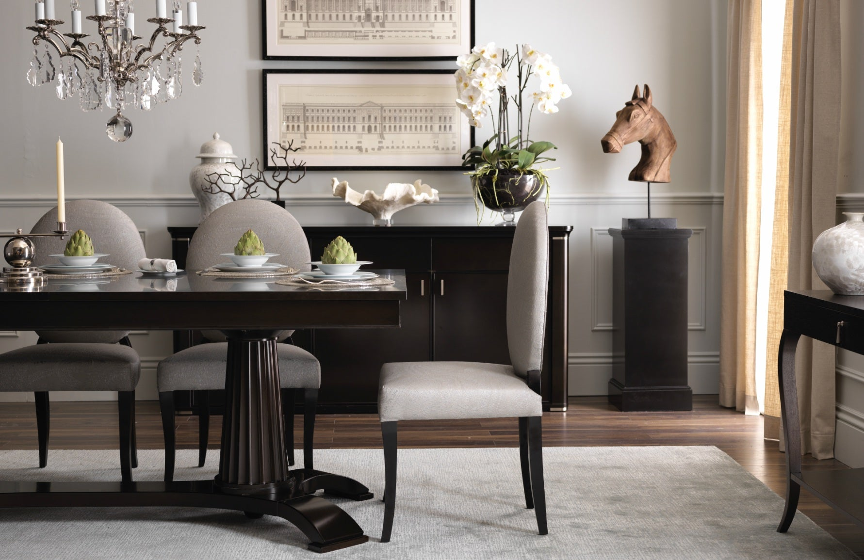 Selva | Behind The Brand | Selva Dining Table | The Luxurist | LuxDeco.com