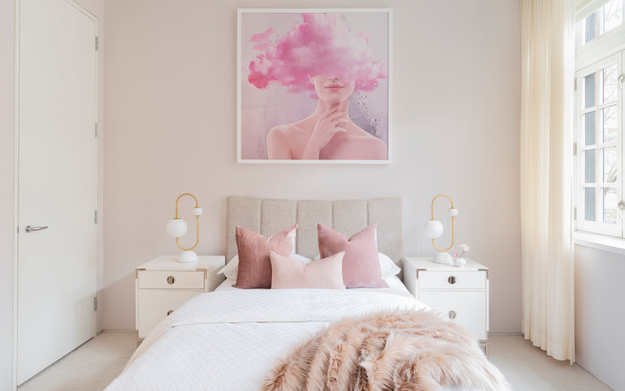 . Pink Bedroom Ideas   How to Decorate Rooms with Pink   LuxDeco com