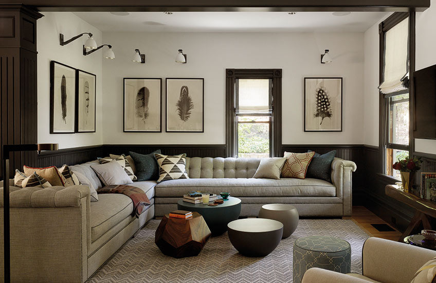 Small Living Room Ideas – Interior by Jay Jeffers; photography by Matthew Millman – Read more in the LuxDeco Style Guide