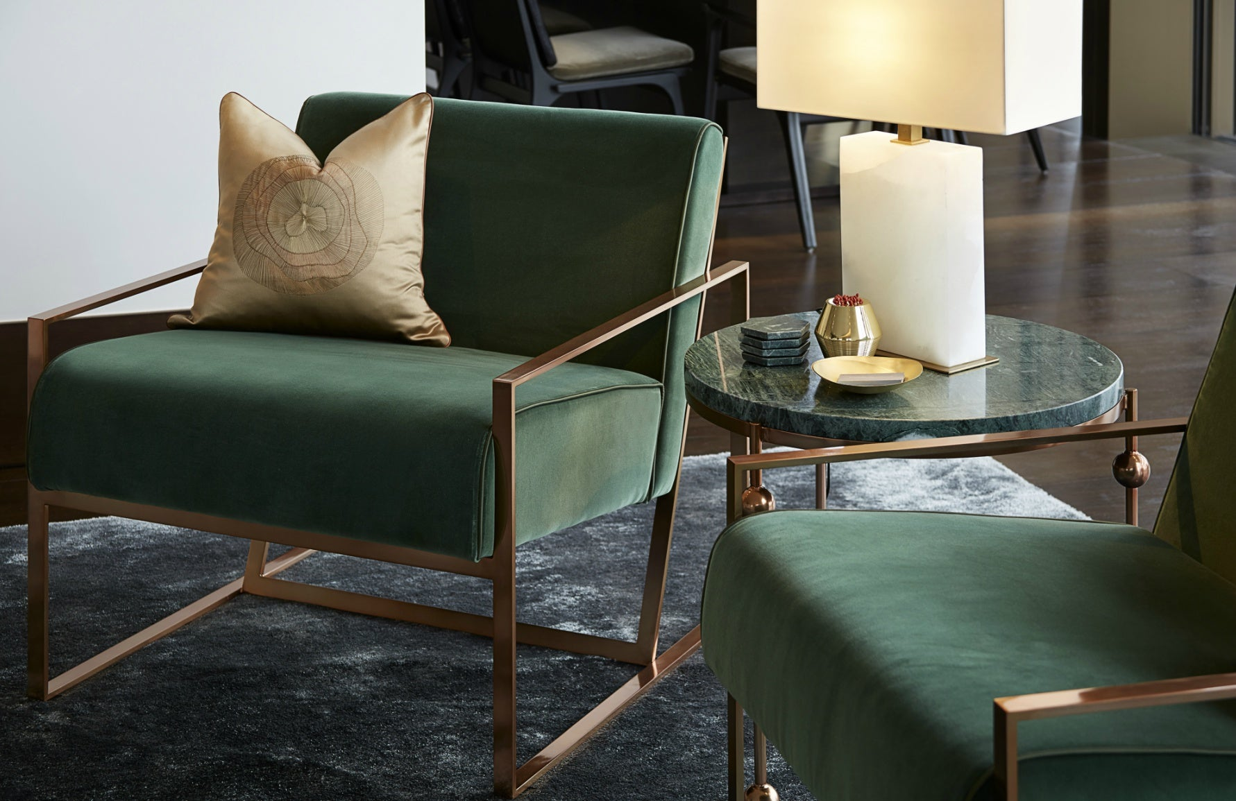 Spinocchia Freund | Meet The Designer | Green Chairs | The Luxurist | LuxDeco.com