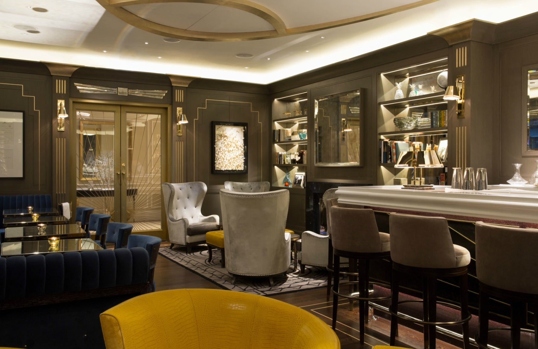 Spinocchia Freund | Meet The Designer | The Churchill Bar | The Luxurist | LuxDeco.com