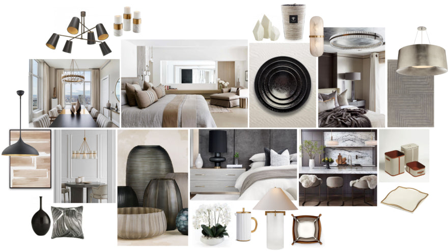 Spring Interior Design Trends - Colour - Modern Neutrals - LuxDeco Style Guide