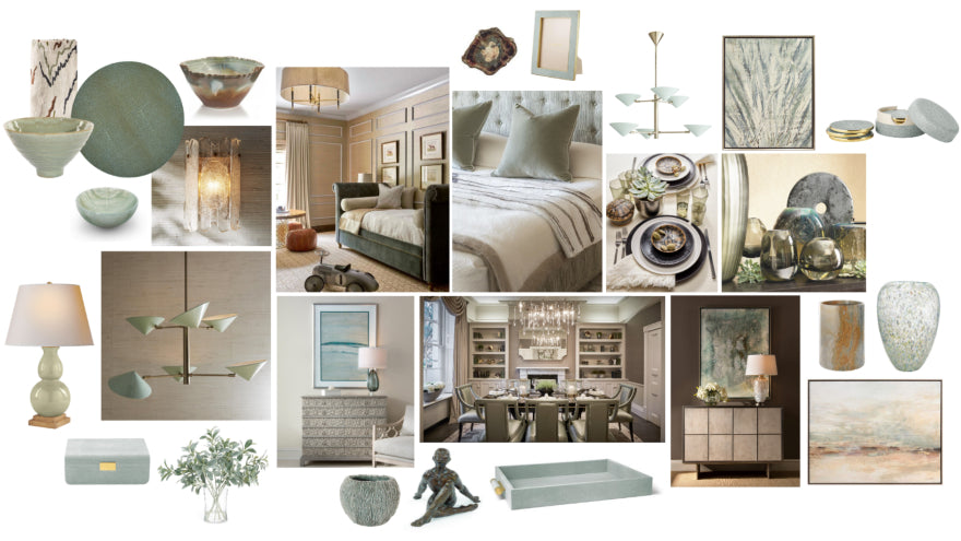 Spring Interior Design Trends - Colour - Sea Green - LuxDeco Style Guide