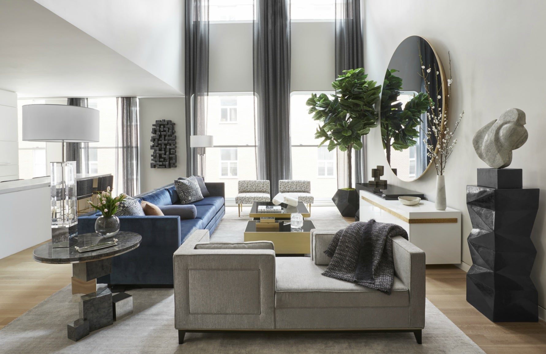 Spring Living Room Ideas | Rearrange Your Furniture | Interior design by Carlyle Design | LuxDeco.com