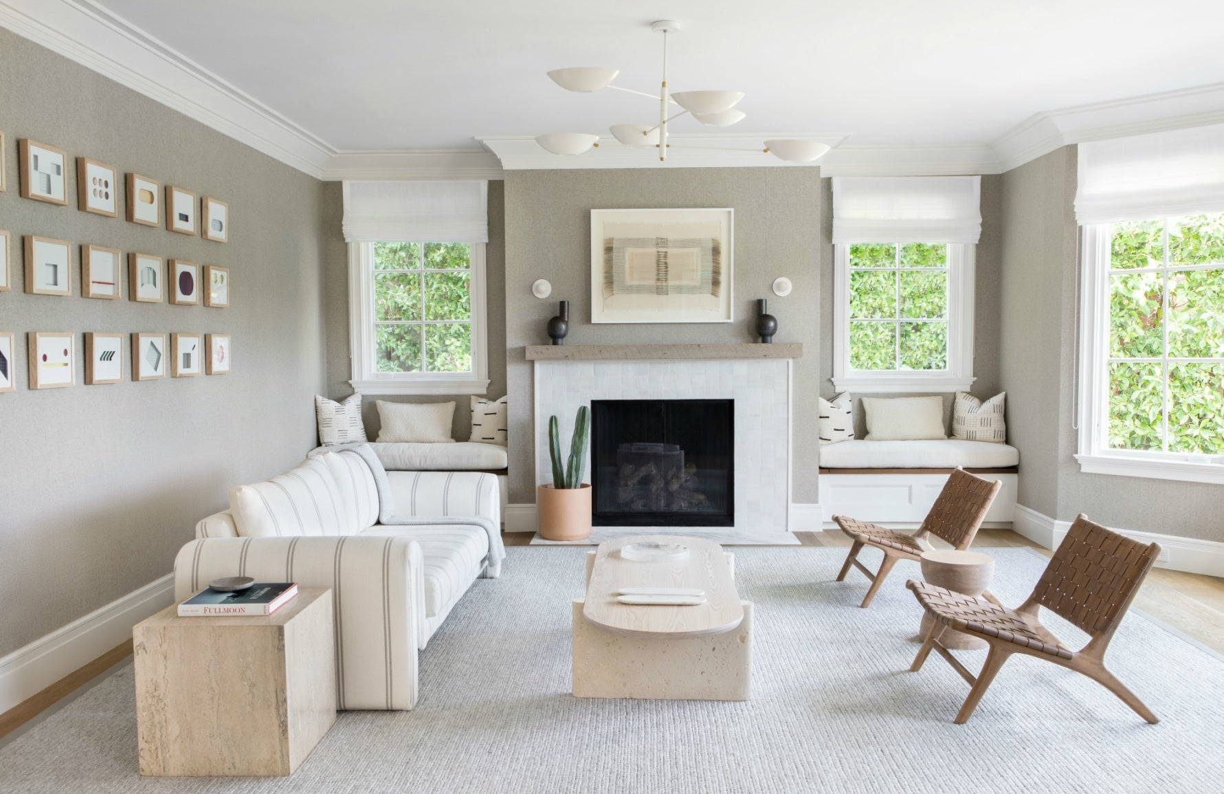 Spring Living Room Ideas | Rearrange Your Furniture | Interior design by Chango & Co. | LuxDeco.com