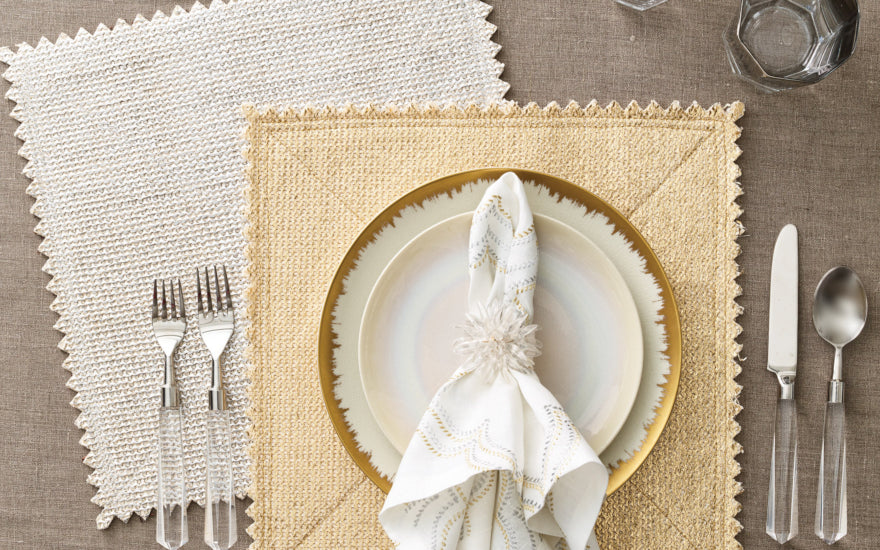 Spring Table Decoration & Setting Ideas - Spring Decor Inspiration - Kim Seybert 4 - LuxDeco Style Guide
