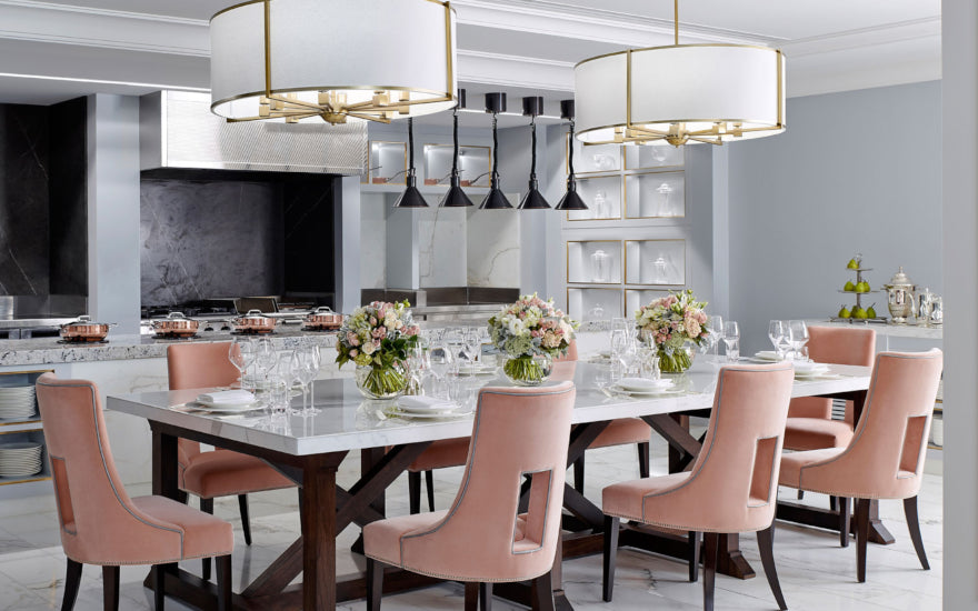 Spring Table Decoration & Setting Ideas - Spring Decor Inspiration - The Langham - LuxDeco Style Guide