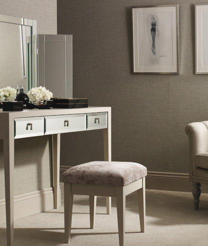 Summer Interior Design Trends - Feminine Dressing Room - LuxDeco.com Style Guide