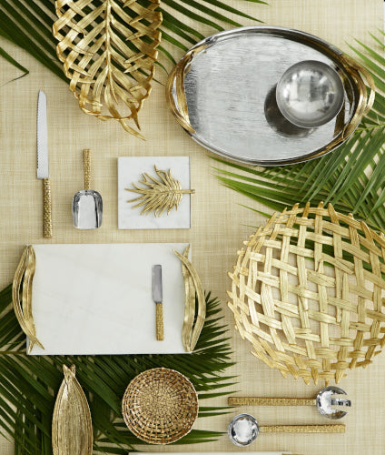 Summer Interior Design Trends - Tropical Print - Michael Aram - LuxDeco.com Style Guide