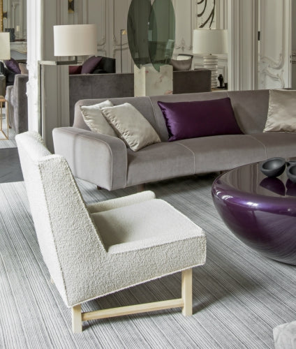 Summer Interior Design Trends for 2019 - Boucle Furniture Upholstery - Champeau & Wilde - LuxDeco