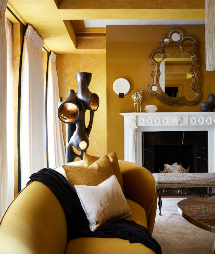 Summer Interior Design Trends for 2019 - Golden Yellow Colour Tones - Drake Anderson - LuxDeco Style Guide