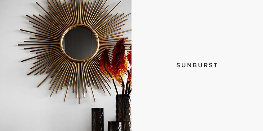 Sunburst Mirror Styles: Which Mirror shape is for you - LuxDeco Style Guide