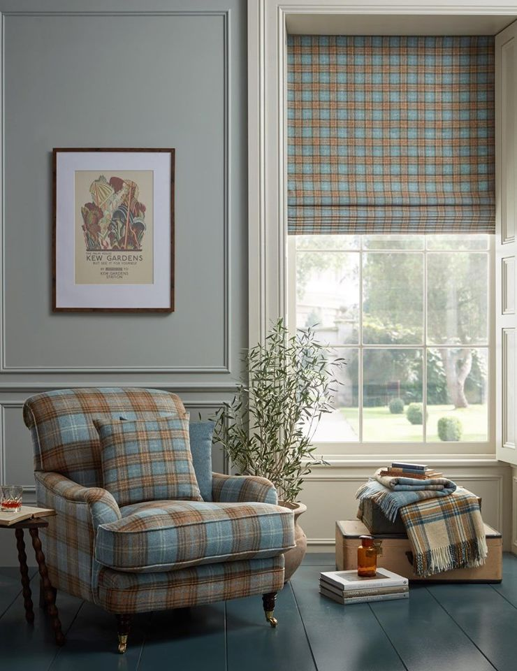 Tartan - Autumn Interior Design Trends - LuxDeco Style Guide