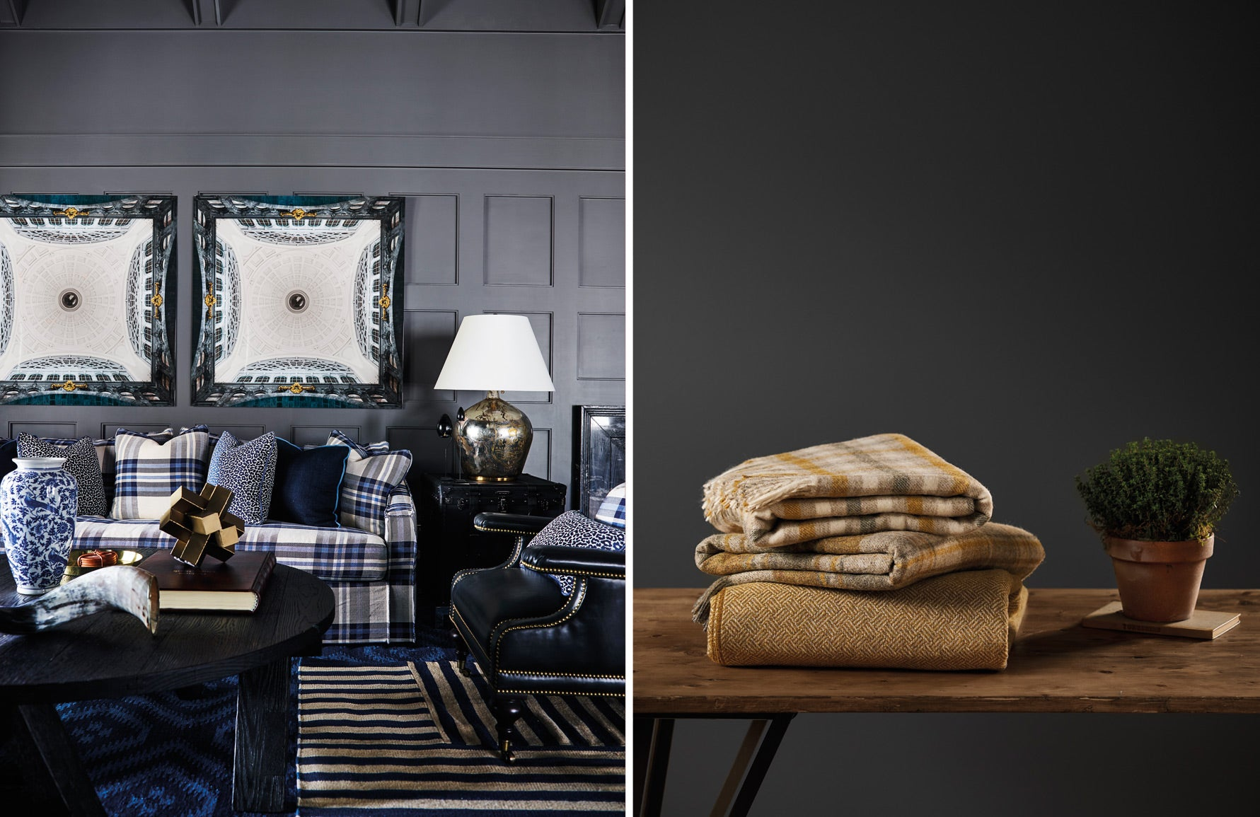 Tartan Living Room Ideas | Images courtesy of Greg Natale and Bronte | LuxDeco.com