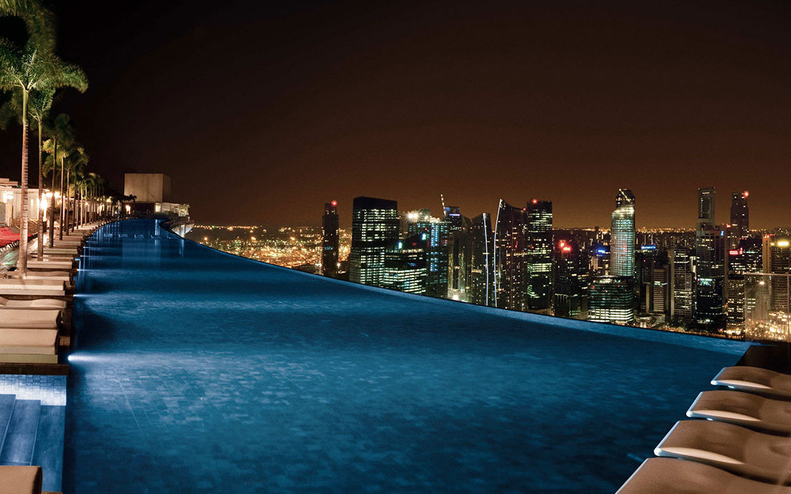 10 Best Hotel Swimming Pools Around The World - Marina Bay Sands, Singapore - LuxDeco.com