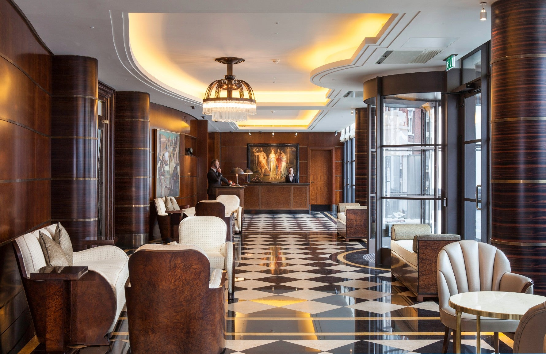 The Beaumont | Art Deco Hotels | Read more in the LuxDeco.com Style Guide