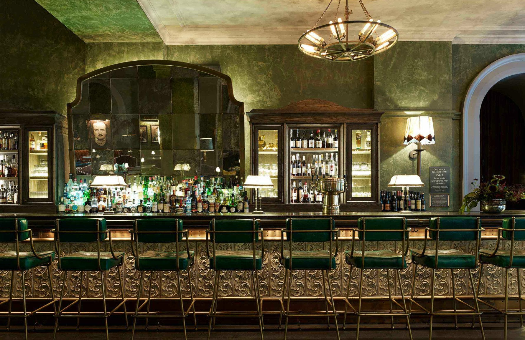 The Beekman Hotel New York | The Bar Room  | Martin Brudnizki Hotel | Read more in The Luxurist at LuxDeco.com