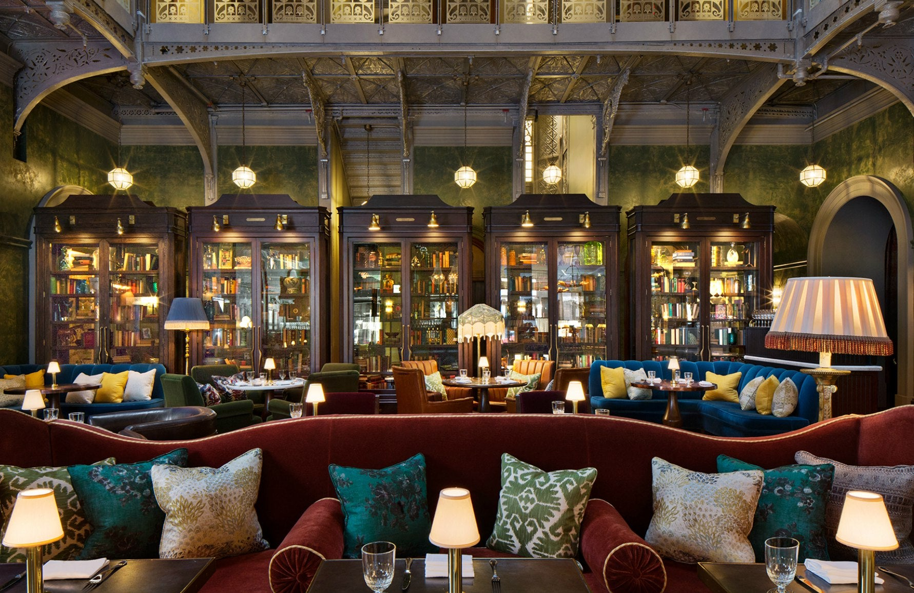 The Beekman Hotel New York | The Bar Room by Martin Brudnizki | Read more in The Luxurist at LuxDeco.com