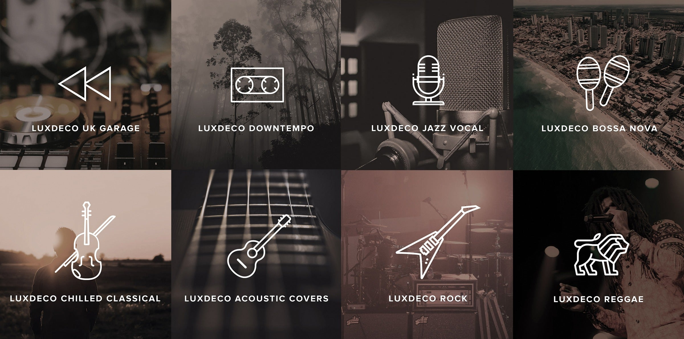 Introducing The Sound of LuxDeco | Spotify Playlists | LuxDeco.com