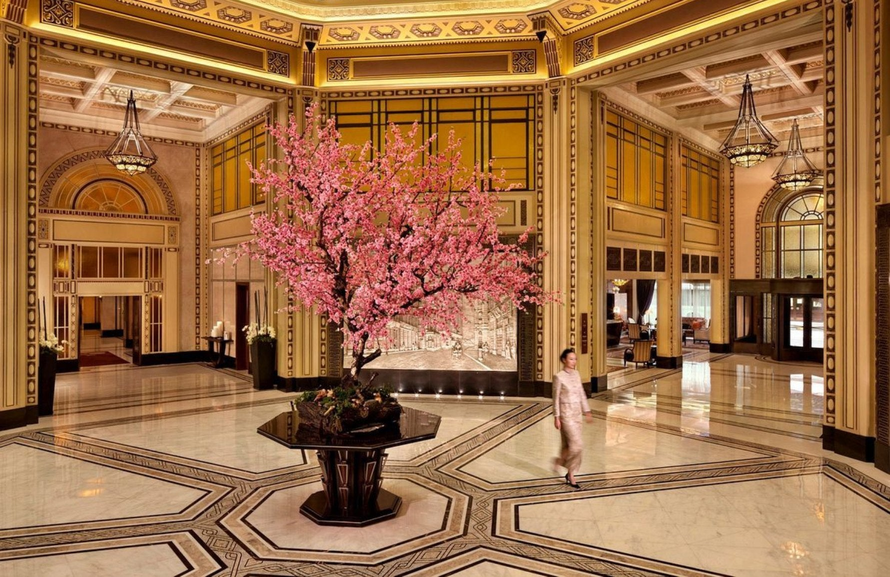 Fairmont Peace Hotel | Art Deco Hotels | Read more in the LuxDeco.com Style Guide