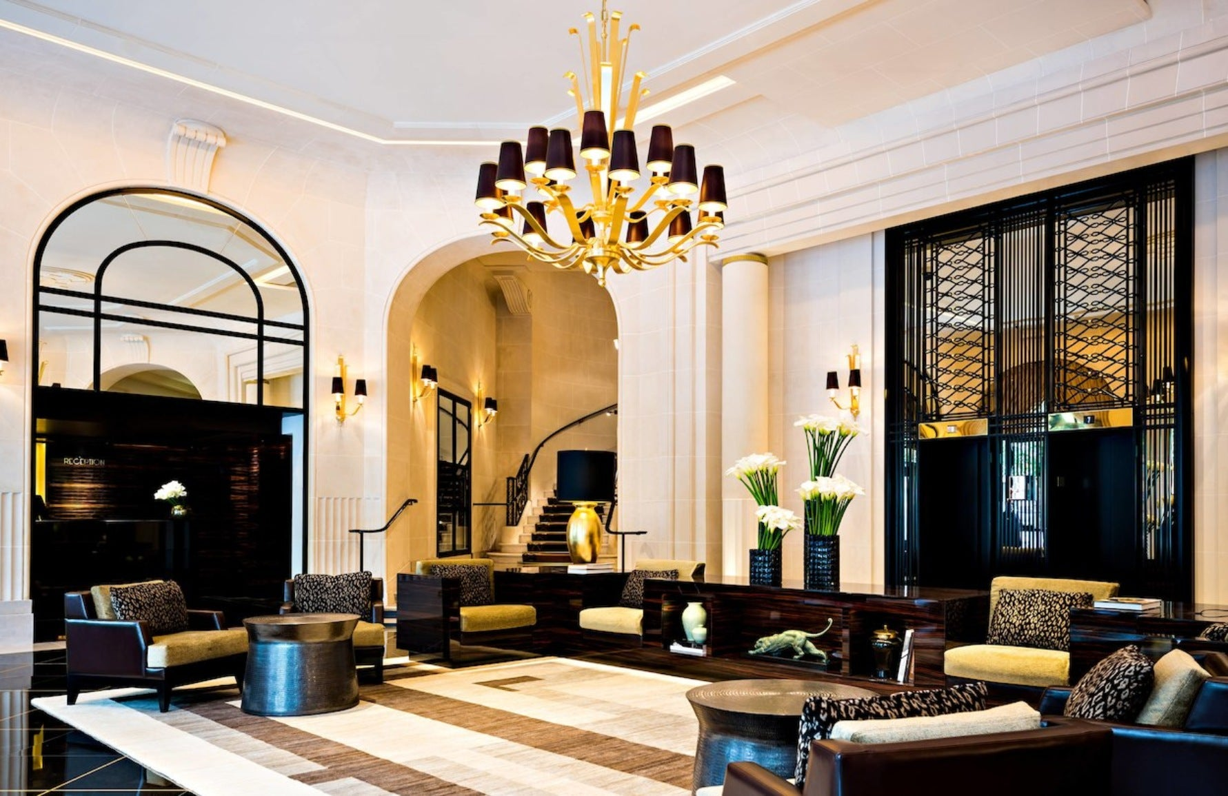Prince des Galles | Art Deco Hotels | Read more in the LuxDeco.com Style Guide