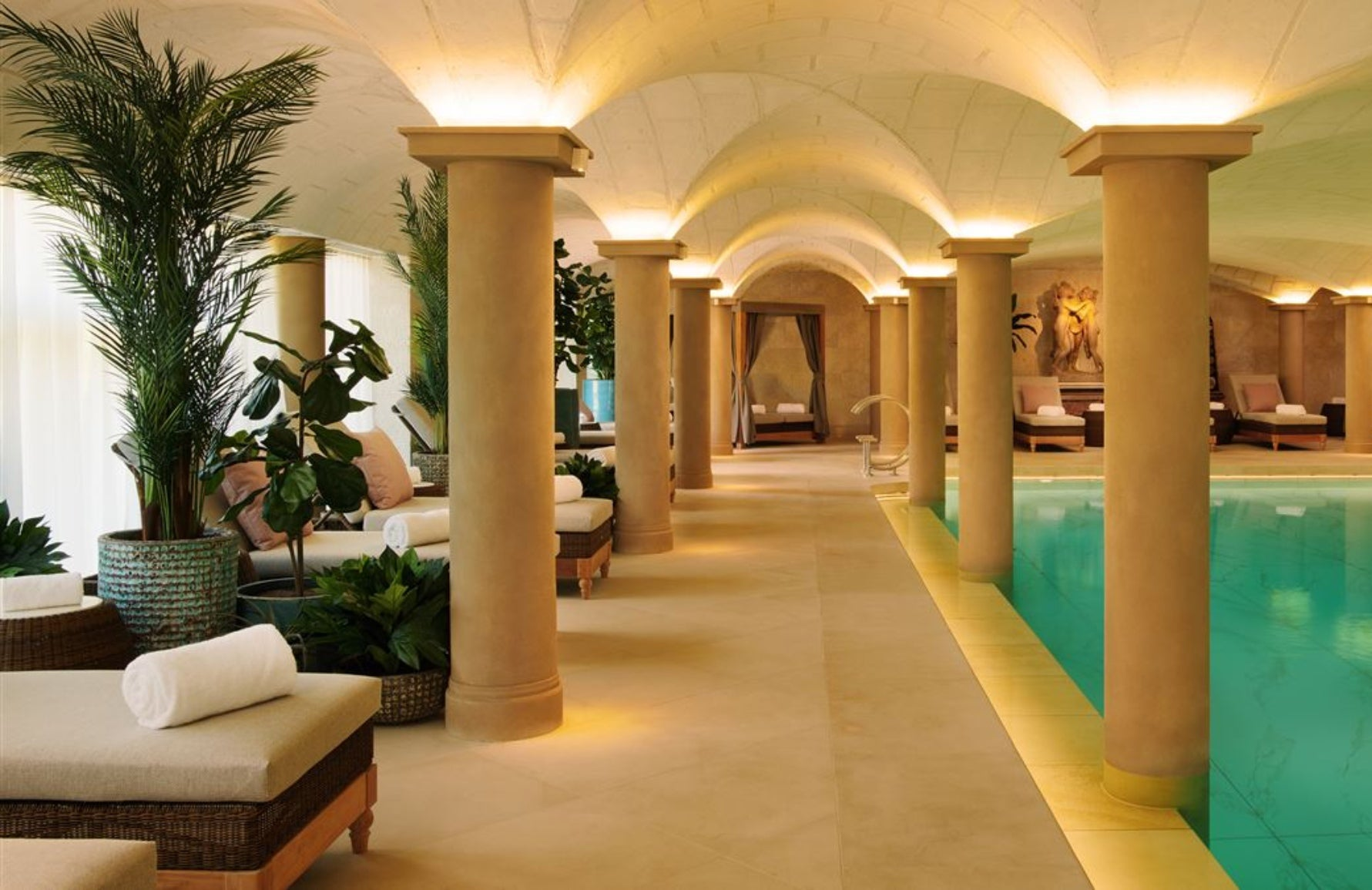 Three Graces Spa at Grantley Hall | Read more about Britain's top spa hotels at LuxDeco.com