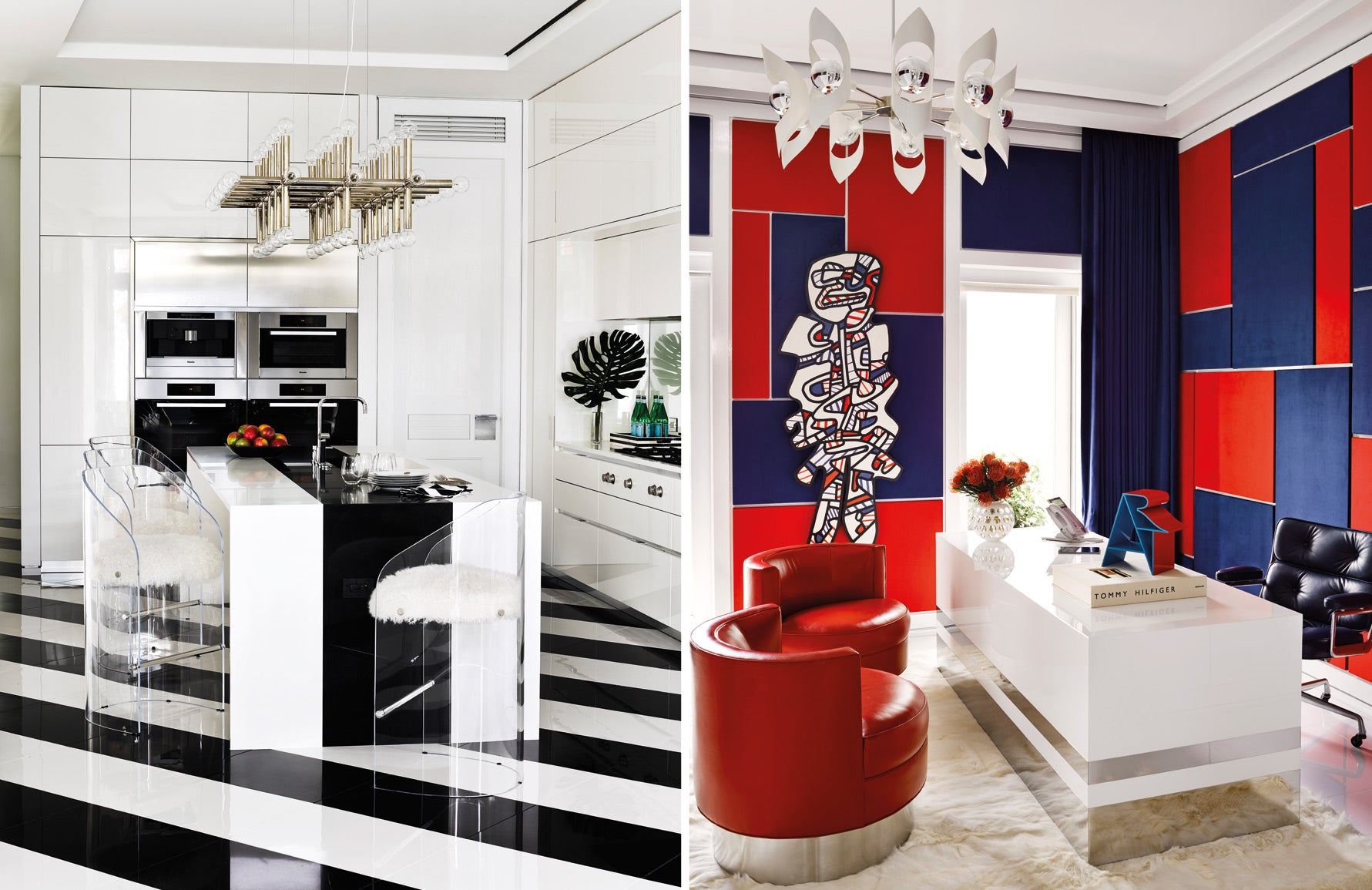 Tommy Hilfiger home | Martyn Lawrence Bullard | Celebrity interior designer | Pop Art interiors | Read more in The Luxurist at LuxDeco.com