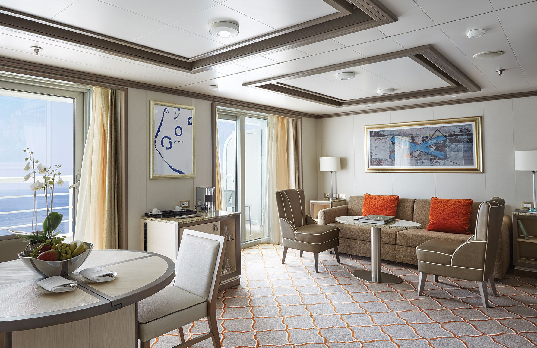 Most Luxurious Cruise Ships in the World _ Silver Muse _ LuxDeco Style Guide
